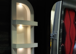 Lighted Rear Shelves