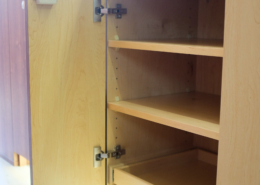 Custom Class B Galley Shelving